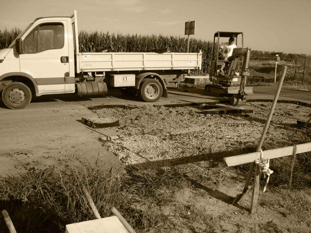 cantiere lavori edili