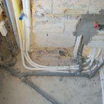 particolare di un impianto idraulico