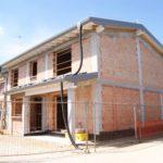 fase di costruzione della casa